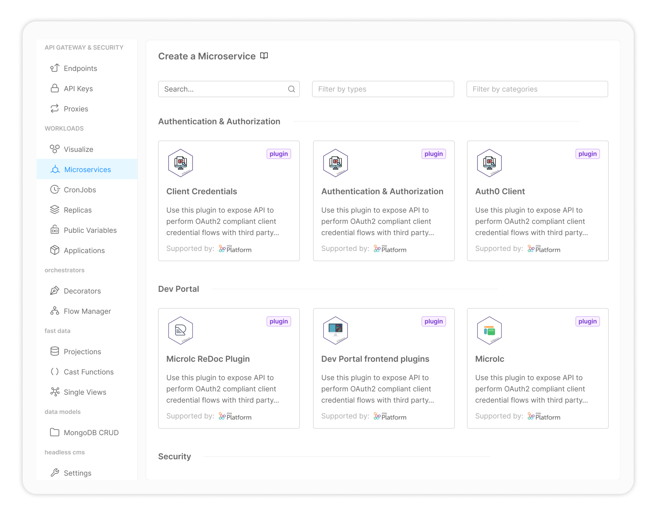 mia-platform-microservice-ready-to-use