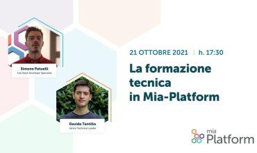 La formazione tecnica in Mia-Platform